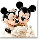 Lenox Disney Minnie's Dream Wedding Cake Figurine