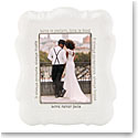 "Lenox Opal Innocence Frame 5X7"" Love Is"