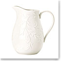 Lenox Opal Innocence Carved Dinnerware Pitcher