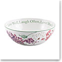 Lenox Butterfly Meadow Dinnerware Sentiment Serving Bowl