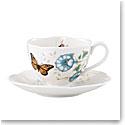 Lenox Butterfly Meadow Dinnerware Monarch Cup Saucer