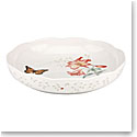 Lenox Butterfly Meadow Dinnerware Low Serving Bowl