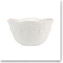 Lenox French Perle White Dinnerware Fruit Bowl
