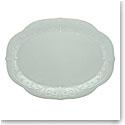 "Lenox French Perle Blue Dinnerware Oval Platter 16"""