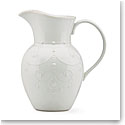 Lenox French Perle White Dinnerware Pitcher Lg