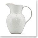 Lenox French Perle White Dinnerware Pitcher Lg