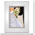 """Lenox Devotion Silverplated 5X7"""" Picture Frame"""
