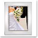 """Lenox Devotion Silverplated 8X10"""" Picture Frame"""
