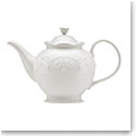 Lenox French Perle White Dinnerware Teapot