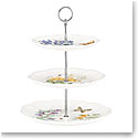 Lenox Butterfly Meadow Dinnerware 3 Tiered Server