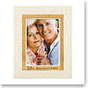 "Lenox 50th Anniversary 5X7"" Picture Frame"