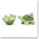 Lenox Butterfly Meadow Dinnerware Turtle Salt And Pepper Set