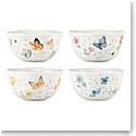 Lenox Butterfly Meadow Petite Dinnerware Dessert Bowl Set Of Four