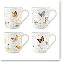 Lenox Butterfly Meadow Petite Mugs Set Of Four
