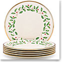 Lenox Holiday Dinner Plate, Set of 6