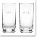 Lenox kate spade, Darling Point Crystal Hiball, Pair