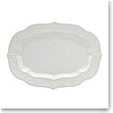Lenox French Perle White Dinnerware Large Serving Platter 18.5""