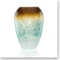 "Lenox Seaview 12 "" Ombre Urn Crystal Vase"
