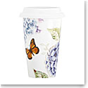 Lenox Butterfly Meadow Blue Dinnerware Thermal Travel Mug