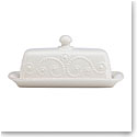 Lenox French Perle White Dinnerware Covered Butter