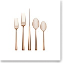 Kate Spade New York, Lenox Malmo Rose Gold Flatware 5 Piece Place