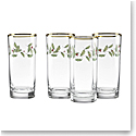 Lenox Holiday Hiball Tumbler, Set of Four
