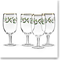 Lenox Holiday Iced Beverage, Set of Four