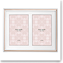 Kate Spade New York, Lenox Rosy Glow Double Invitation Frame