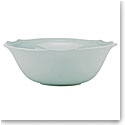 Lenox French Perle Bead Ice Blue Dinnerware Serving Bowl