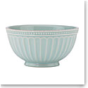 "Lenox French Perle Groove Ice Blue 6"" Dinnerware Bowl"