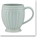Lenox French Perle Groove Ice Blue Dinnerware Mug, Single