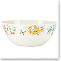 Lenox Butterfly Meadow Melamine Dinnerware Serving Bowl Lg