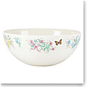 Lenox Butterfly Meadow Melamine Dinnerware Salad Bowl Md