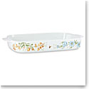 Lenox Butterfly Meadow Dinnerware Rectangular Baker