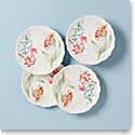 Lenox Butterfly Meadow Melamine Dinnerware Accent Place Setting Of Four