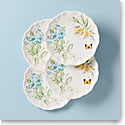 Lenox Butterfly Meadow Melamine Dinnerware Dinner Place Setting Of Four