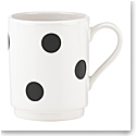 Kate Spade China by Lenox, Deco Dot Mug