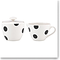 Kate Spade China by Lenox, Deco Dot Sugar And Creamer