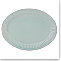 Lenox French Perle Groove Ice Blue Dinnerware Platter 16