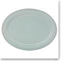 Lenox French Perle Groove Ice Blue Dinnerware Platter 16