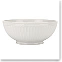 Lenox French Perle Groove White Dinnerware Serving Bowl