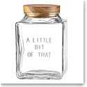Kate Spade New York, Lenox Glass Canister Little Bit Of That