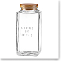 Kate Spade New York, Lenox Glass Canister Little Bit Of This