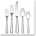 Kate Spade New York, Lenox Todd Hill Gold Flatware 5 Piece Place Set