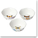 Lenox Butterfly Meadow Dinnerware Prep Bowl Set Of Three