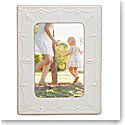 "Lenox French Perle White 4X6"" Picture Frame"