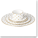 Kate Spade China by Lenox, Larabee Rd Gold 5 Piece Place Setting