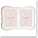 Kate Spade New York, Lenox Crown Pt Gold Double Invitation Frame