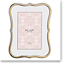 Kate Spade New York, Lenox Crown Pt Gold 4x6 Frame