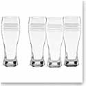 Lenox kate spade Library Stripe Wheat Beer, Set of 4